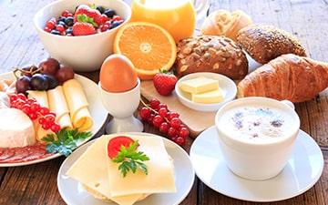 Full continental breakfast formula